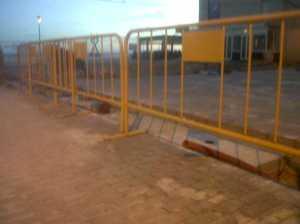 Cerramiento provisional vallas peatonales
