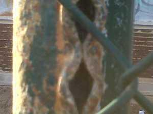 Corrosión en ambiente costero
