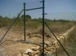 postes cremallera en desnivel