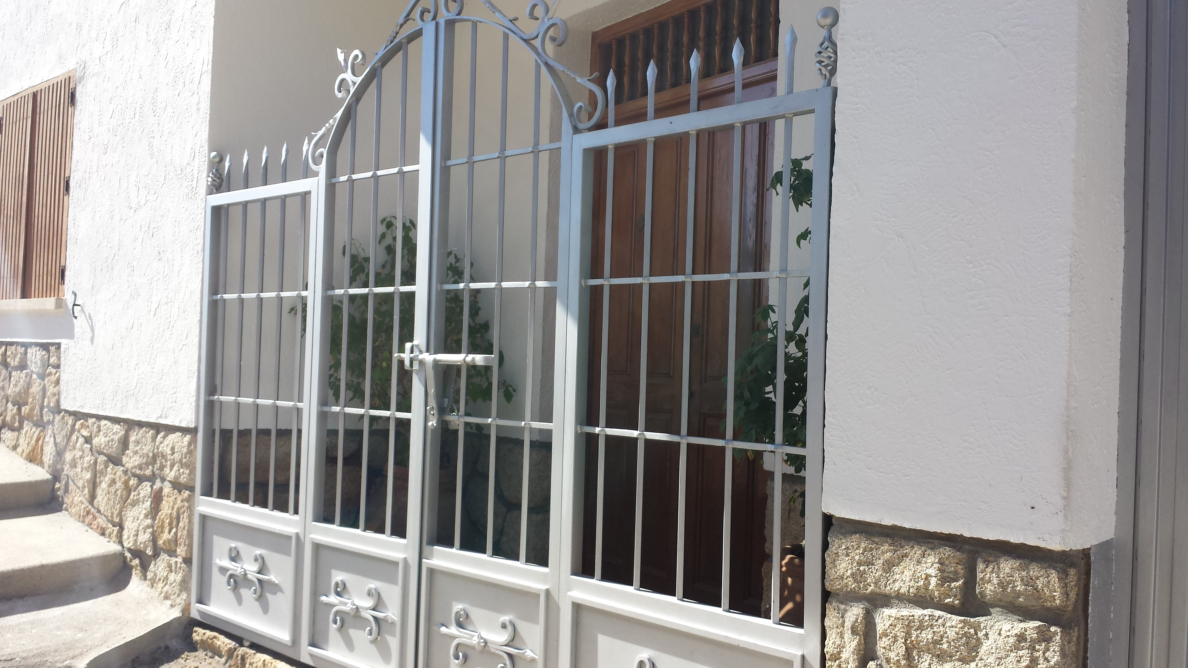 Vinuesa vallas cercados modelos valla verjas art sticas - Verjas de hierro ...