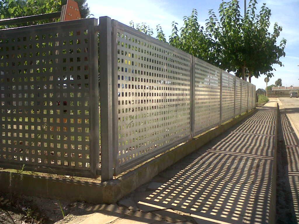 Vinuesa vallas cercados modelos valla verjas - Verjas de hierro ...