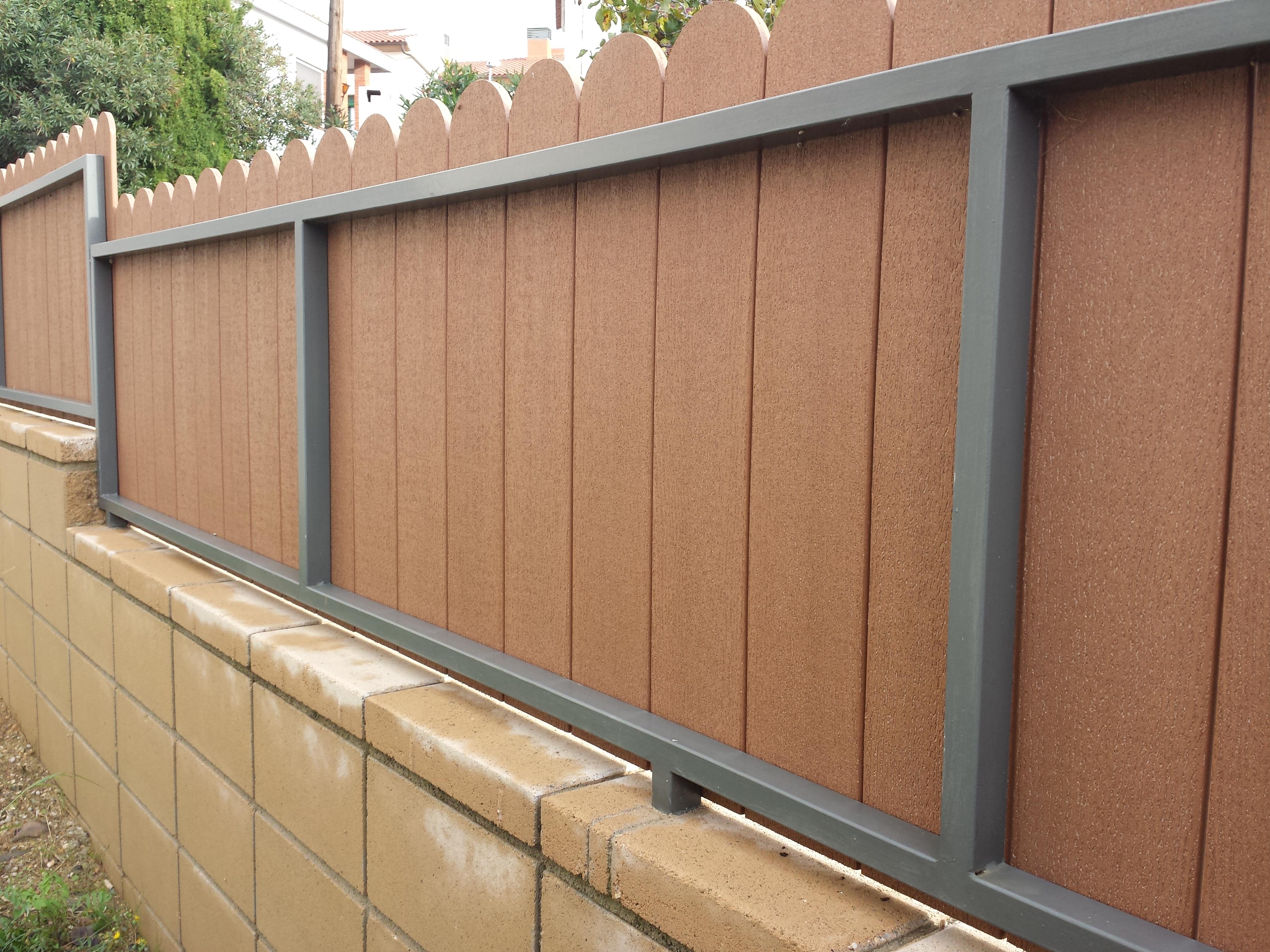 Vinuesa vallas cercados 4 ideas de vallas ocultaci n for Vallas de aluminio para jardin