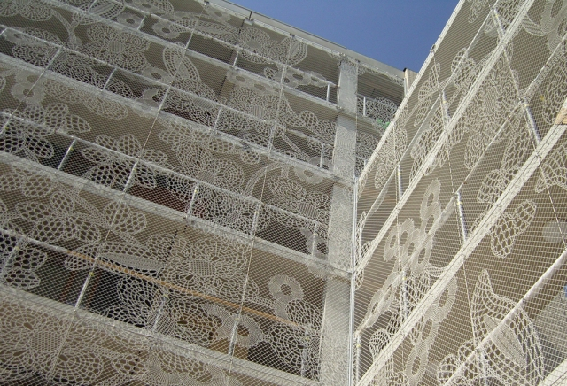 Diseño LACE FENCE fachadas