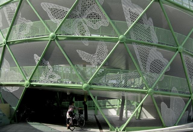 Diseño LACE FENCE en fachadas