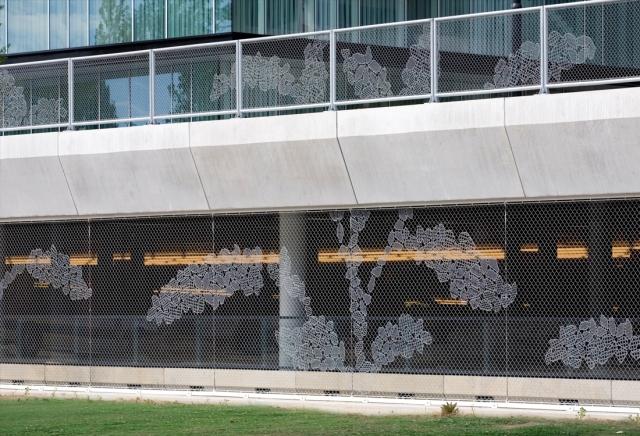 Diseño LACE FENCE en cerramientos