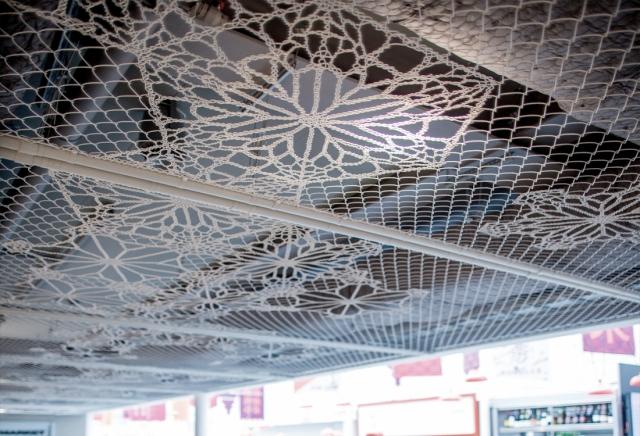 Diseño LACE FENCE en techos