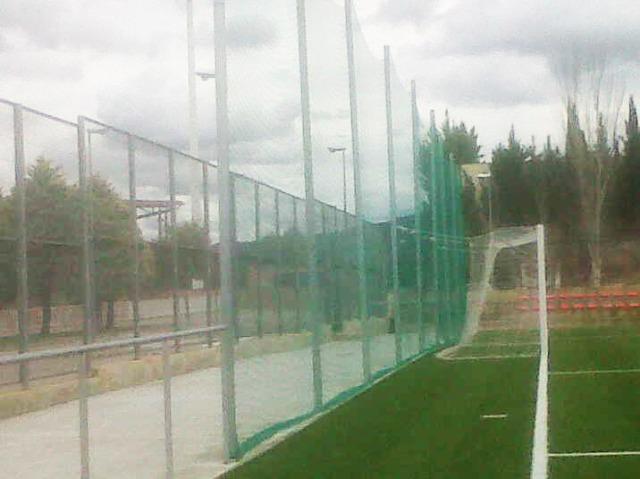 Cerramientos campo de futbol